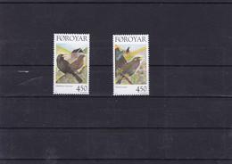 ILES FEROE : Oiseaux Sédentaires: Y&T : 324**  325** - Faroe Islands