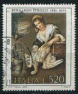 """(CL 29 - P 7) Italie Ob N° 1354 - Tableau """"la Cuisinière"""" De B. Strozzi - Otros"""