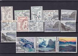 ILES FEROE : Série Courante : Y&T : 1 O à 14 O - Faroe Islands
