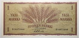 Finlande - 1 Markkaa - 1963 - PICK 98a.16 - NEUF - Finlandia