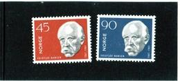 CG39 - 1961 Norvegia - Fridtijof Nansen - Esploratore E Navigatore - Polar Explorers & Famous People