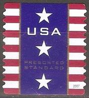 États Unis - 2007 - Eléments Du Drapeau Américain - YT Préoblitéré 92 Oblitéré - Preobliterati