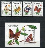 Gambia 1991. Yvert 1015-18 + Block 108 ** MNH. - Gambia (1965-...)