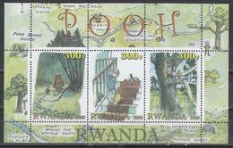 "Rwanda "" WINNIE POOH "" 2000 MNH - Other"