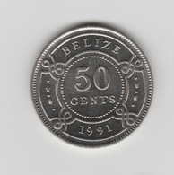 50 CENTS 1991 - Belize