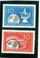 CG39 - 1960 Finlandia- Anno Int. Della Geofisica - International Geophysical Year