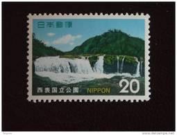 Japan Japon Nippon 1974 Parc National Nationaal Park Chutes Watervallen Yv 1105 MNH ** - 1926-89 Emperador Hirohito (Era Showa)