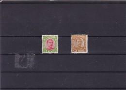 ISLANDE :  Christian X : Y&T : 82**83** - 1873-1918 Deense Afhankelijkheid