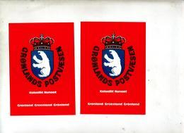 Carte Armoirie Kalaalit - Greenland