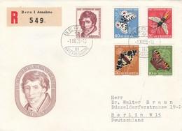 Suisse - Année 1955 - Oblitéré 01/12/1955 - Lettre Avec Série Pro Juventute - Pro Juventute