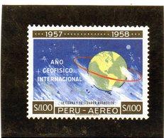 CG39 - 1958 Peru - Anno Int. Della Geofisica - International Geophysical Year