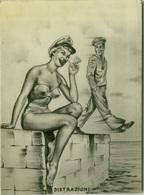 1950s PIN UP - SAILOR - DISTRAZIONI - EDIZ. BROMOSTAMPA (1420) - Humour
