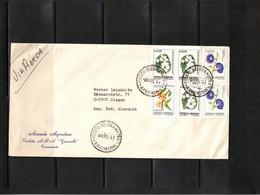 Argentina 1984 Interesting Airmail Letter - Argentina