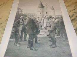 PHOTO NOS HOMMES D ARMES NOUVEAU CASQUE D ACIER 1915 - 1914-18