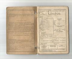 Fromelles-livret Militaire Cousin Alphonse-campagne Verdun-la Somme-croix De Guerre - Guerre 1914-18