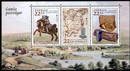 Europa 2020 - Suède Schweden Sverige - Anciennes Routes Postales - Gamla Postvägar ** - Post