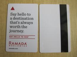 Ramada Worldwide, Say Hello - Cartes D'hotel