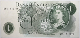Grande-Bretagne - 1 Pound - 1960 - PICK 374a - SUP - 1952-… : Elizabeth II