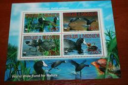 WWF  Antigua & Barbuda  Rare Mini-block   Birds - Unclassified