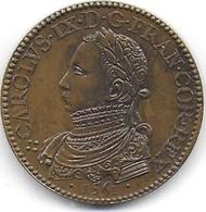 CHARLES IX - Médaille Frappe Ancienne ( Pas De Poinçon ) - Monarchia / Nobiltà