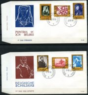 BE   FDC  1076 - 1081  ---   Culturelle : Chefs-d'oeuvres Belges   --  TTB - 1951-60