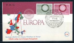 BE   FDC  1150 - 1151  ---    Europa : CEPT   --  TTB - 1951-60