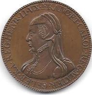 CATHERINE DE MEDICIS - Médaille Frappe Ancienne ( Pas De Poinçon ) - Monarchia / Nobiltà