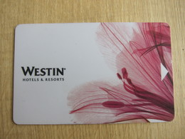 Westin Hotel, Flower - Cartes D'hotel