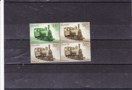 ISLANDE :  : Y&T : 863**864**blocs De 4 Timbres - 1944-... Republiek
