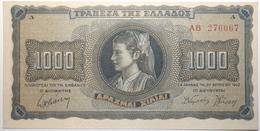 Grèce - 1000 Drachmai - 1942 - PICK 118a.2 - SPL - Grèce
