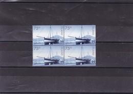 ISLANDE : Bateau  : Y&T : 865**bloc De 4 Timbres - 1944-... Republiek