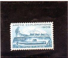 CG39 - 1959 Stati Uniti - Esplorazioni Artiche - Arctic Expeditions