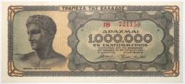 Grèce - 1000000 Drachmai - 1944 - PICK 127a - NEUF - Grèce