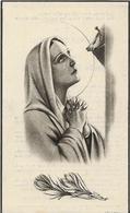 DP. OORLOG 40-45  ISABELLE DEMAECKER ° OOSTENDE 1917 - + SCHAERBEEK 1944 - SLACHTOFFER LUCHTBOMBARDEMENT - Godsdienst & Esoterisme