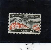 CG39 - 1958 Stati Uniti - Anno Int. Della Geofisica - International Geophysical Year