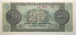 Grèce - 25000000 Drachmai - 1944 - PICK 130b.2 - NEUF - Grecia
