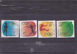 ISLANDE : Disciplines Olympiques : Y&T : 799** à 802** - 1944-... Republiek
