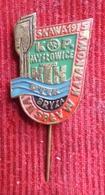 Canoe / Kayak - VII Splyw Kajakowy Skawa 1975 Badge Badge / Pin - Canoa