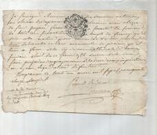 Domaines Nationaux 1786 - Documents Historiques