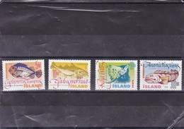 ISLANDE : Poissons De Mer : Y&T :841** à 844** - 1944-... Republiek