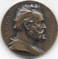 Médaille Centenaire De Victor Hugo  1802 -  1902 - Non Classificati