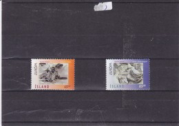 ISLANDE : Zuropa Contes Et Légendes : Y&T :825** 826** - 1944-... Republiek