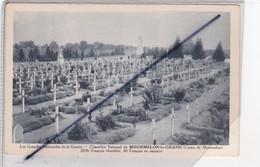 Cimetière National De Mourmelon Le Grand (51) Les Grandes Nécropoles De La Guerre (2026 Français Identifiés,40 En Ossuai - Mourmelon Le Grand