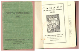Carnet Du Fermier Belge  1931 - Nature