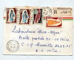 Lettre Recommandée Nouakchottk Sur Costume Upu - Mauritania (1960-...)