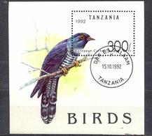 TANZANIA - FAUNA - BIRDS -  MI.NO.BL 190 - CV - 3,5 € - Tanzania (1964-...)