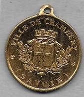CHAMBERY - Médaille Souvenir Du  Concours De Gymnastique 1886 - Non Classificati