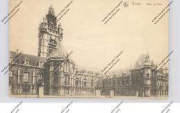 F 59500 DOUAI, Hotel De Ville, 1917, Deutsche Feldpost - Douai