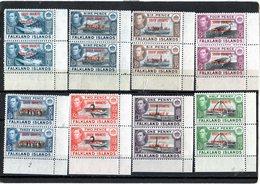 CG39 - 1944 Falkland - Vedute - South Shetlands, Graham Land E South Orkneys - Falklandinseln