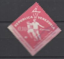 Venezuela Used 1962 Football, Soccer, The 1st National Games - Caracas, Venezuela 1961 - Venezuela